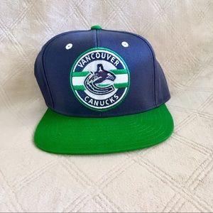 Reebok Vancouver Canucks SnapBack Baseball Cap